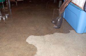 basement leak plumbing