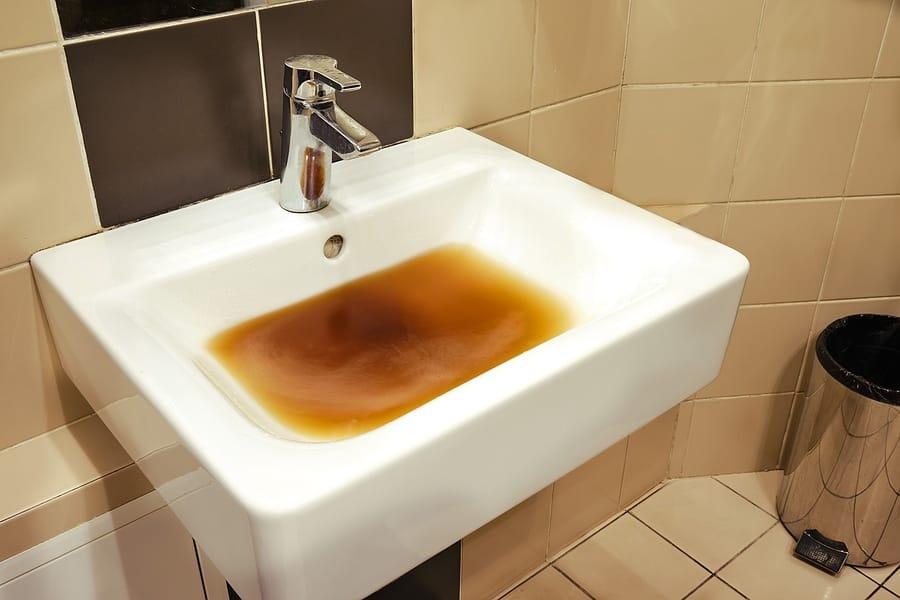 bathroom sink drain cleaning & unclogging