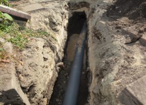sewer line replacement services