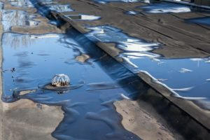 commercial roof drain cleaning & unclogging