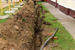 reduce digging for sewers